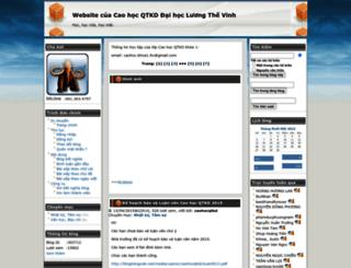 caohocqtkd.blogtiengviet.net screenshot
