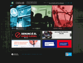 caolab.com.ar screenshot