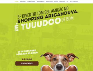 caorridashoppingaricanduva.com.br screenshot