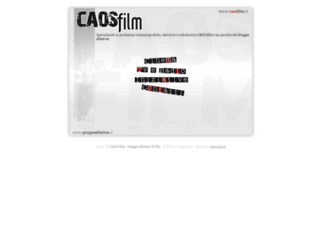 caosfilm.it screenshot