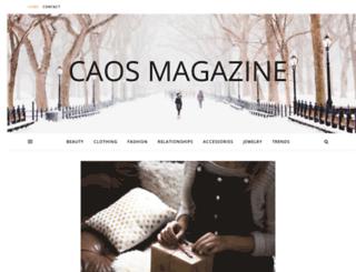 caosmagazine.com screenshot