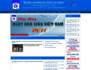 caothang.edu.vn screenshot