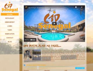 cap-senegal.com screenshot