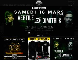 cap-tain.com screenshot