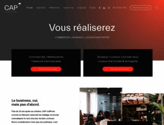 cap-transactions.com screenshot