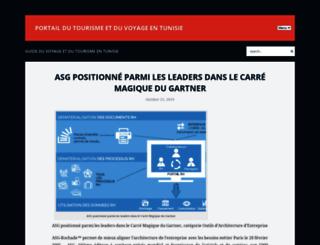 cap-tunisie.com screenshot