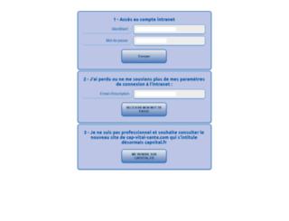 cap-vital-sante.com screenshot
