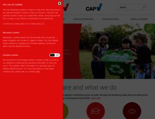 cap.org.uk screenshot