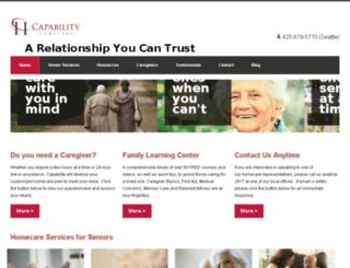 capabilityhomecare.com screenshot