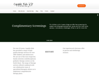 capablekidsofthenorthshore.net screenshot