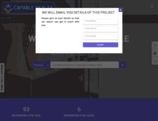 capablerealty.com screenshot