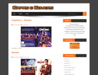 capasecovers.blogspot.com.br screenshot