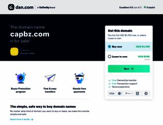 capbz.com screenshot