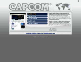 capcom.com screenshot