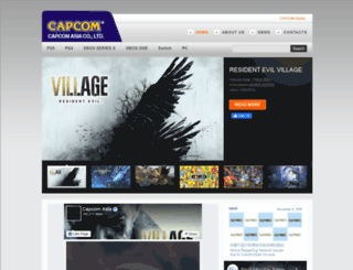 capcomasia.com.hk screenshot