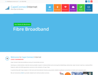cape-connect.com screenshot
