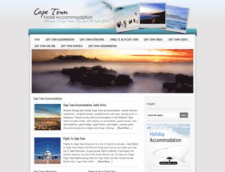cape-town-hotel-accommodation.com screenshot