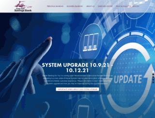 capeannsavingsbank.com screenshot