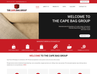 capebaggroup.com screenshot