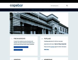 capebar.co.za screenshot