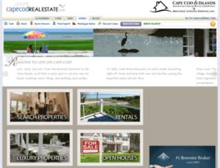 capecodrealestate.com screenshot