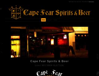 capefearwineandbeer.net screenshot