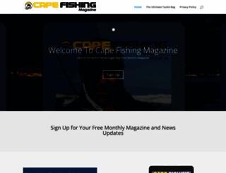 capefishingmagazine.com screenshot