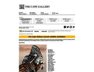 capegallery.co.za screenshot