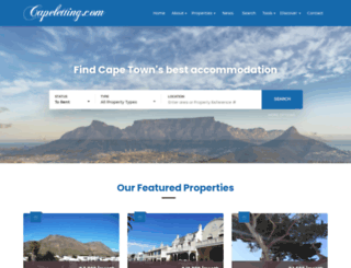 capeletting.com screenshot