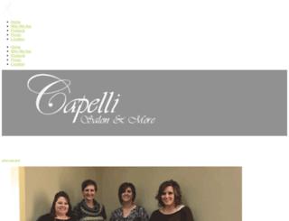 capellicrew.com screenshot