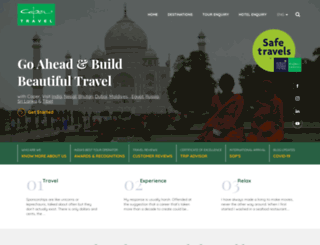 capertravelindia.com screenshot