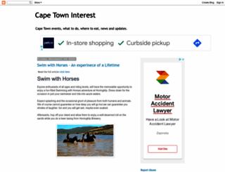 capetown-interestandactivities.blogspot.in screenshot