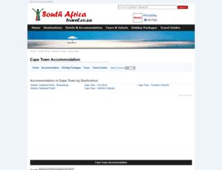 capetown-travel.co.za screenshot