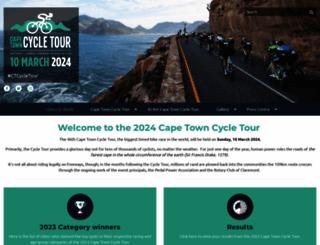 capetowncycletour.com screenshot