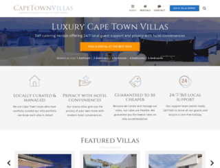 capetownvillas.net screenshot