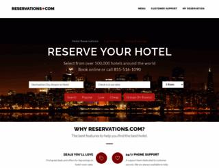 capetravelinformation.com screenshot