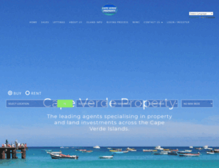 capeverdeproperty.co.uk screenshot