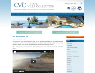 capevillacollection.com screenshot