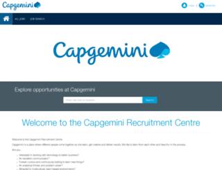 capgemini.recruitasp.com.au screenshot