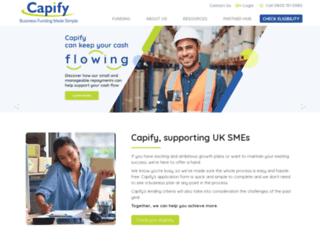 capify.co.uk screenshot