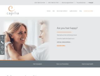 capilia.ca screenshot