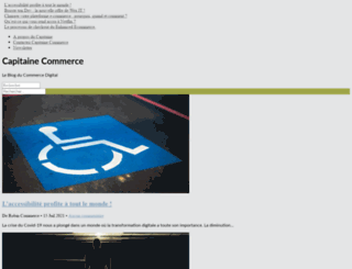 capitaine-commerce.com screenshot