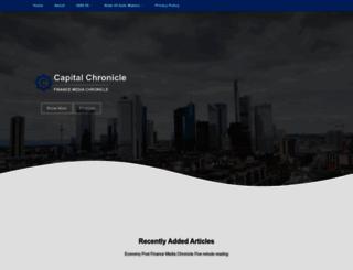 capital-chronicle.com screenshot