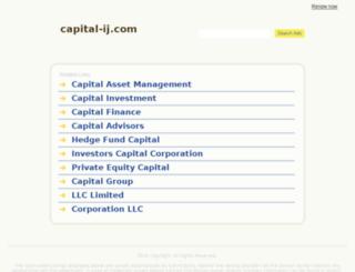 capital-ij.com screenshot