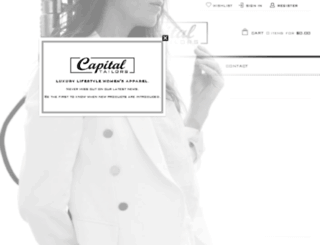 capital-tailors.com screenshot