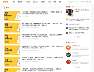 capital.cyzone.cn screenshot