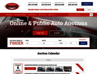 capitalautoauction.com screenshot