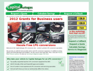 capitalautogas.com screenshot