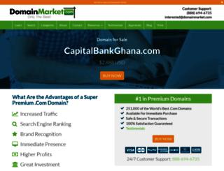capitalbankghana.com screenshot