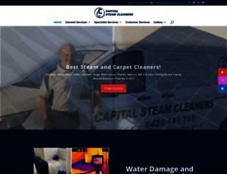 capitalcarpetcleaners.com.au screenshot